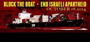 Block the Boat LA is holding an action 18 October  CREDIT: Facebook