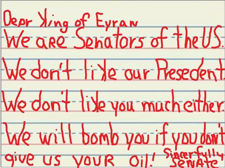 Breaking: Someone Leaked Copy of Letter GOP Senators Sent to Iran