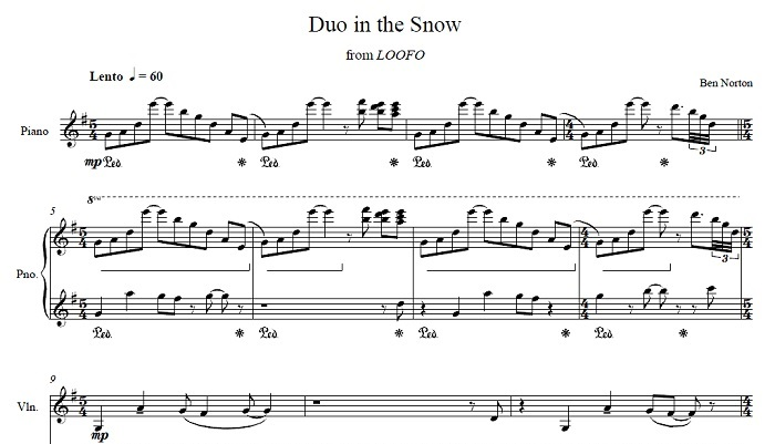 Duo in the Snow