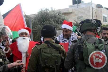 This Christmas, Israel Violently Represses Palestinian Protests in Bethlehem
