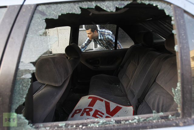 """UN: Israel Killed 15 Journalists in Summer 2014, """"Purposefully"""" Targeting Many"""