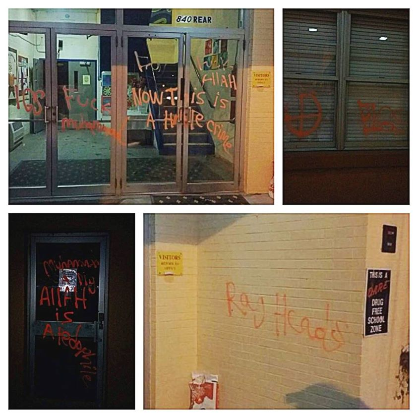 White Supremacists Vandalized Rhode Island Islamic School on Valentine's Day