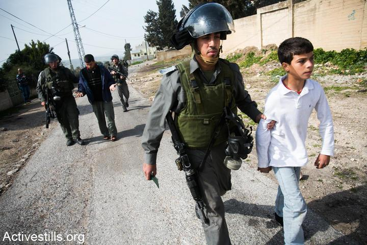 40 of palestinian children detained by israel sexually