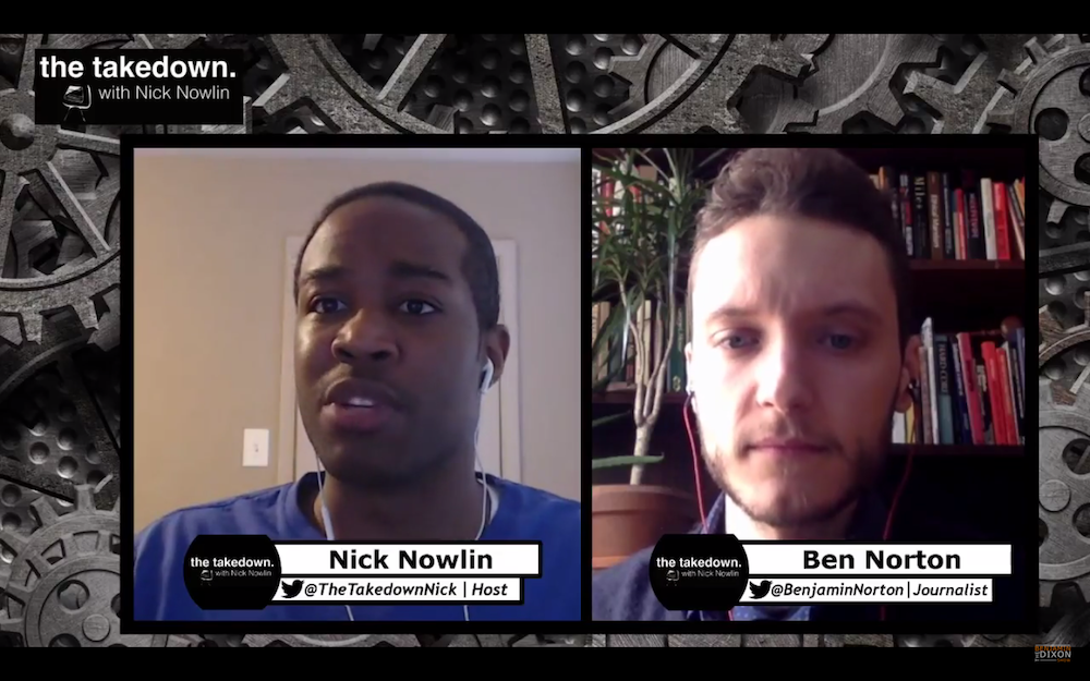 US imperialism, Syria, Afghan mujahideen, and historical déjà vu — Interview with Nick Nowlin on Benjamin Dixon Show