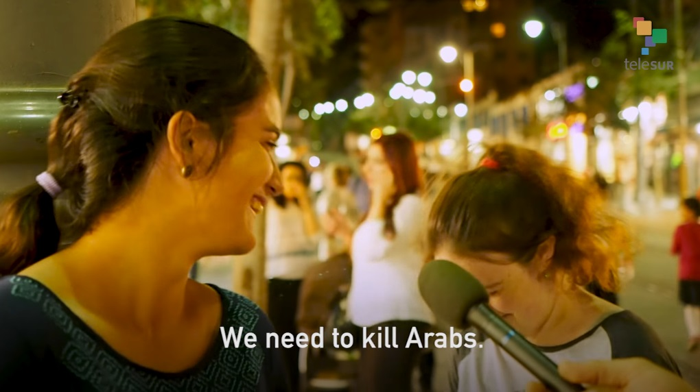 """We need to kill Arabs"": Israelis overflow with genocidal extremism in new video from Jerusalem"
