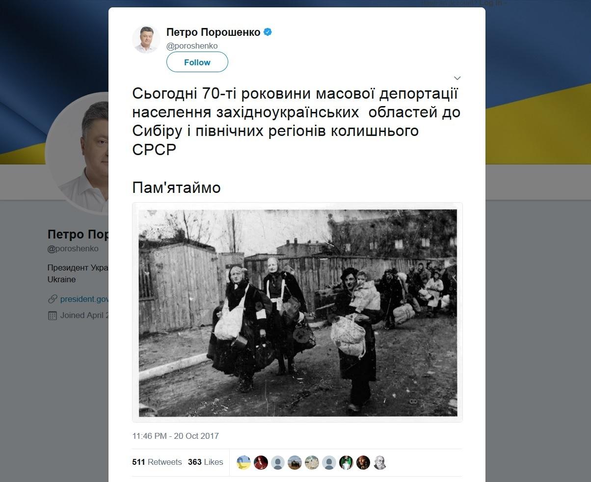 Ukraine's president whitewashes Nazi Holocaust crime, falsely blaming it on USSR